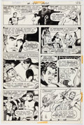 Original Comic Art:Story Page, Dave Cockrum and Murphy Anderson Superboy #184 Story Page 4 Original Art (DC, 1972)....