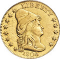 1806/4 $2 1/2 8x5 Stars, BD-1, High R.4 -- Cleaning -- PCGS Genuine. XF Details....(PCGS# 45512)