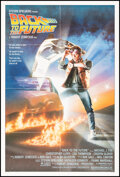 """Movie Posters:Science Fiction, Back to the Future (Universal, 1985). Fine- on Linen. One Sheet (27"""" X 41"""") Drew Struzan Artwork. Science Fiction.. ..."""