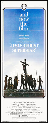 """Jesus Christ Superstar & Other Lot (Universal, 1973). Folded, Fine/Very Fine. Insert (14"""" X 36"""") and One S..."""