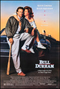 """Movie Posters:Sports, Bull Durham (Orion, 1988). Rolled, Very Fine. One Sheet (27"""" X 41""""). Sports.. ..."""