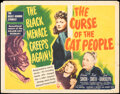 """Movie Posters:Horror, The Curse of the Cat People (RKO, 1944). Rolled, Fine-. Half Sheet (22"""" X 28"""") Style A. Horror.. ..."""