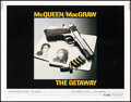 """Movie Posters:Action, The Getaway (National General, 1972). Rolled, Very Fine-. Half Sheet (22"""" X 28""""). Action.. ..."""