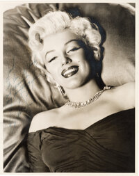 Marilyn Monroe Extraordinary Inscribed and Signed Oversize Photograph to her Dance Coach Jack Cole