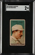 Baseball Cards:Singles (Pre-1930), 1888 N162 Goodwin Champions Dan Brouthers SGC 2....