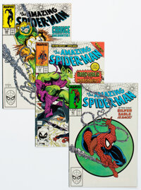 The Amazing Spider-Man Group of 26 (Marvel, 1988-90) Condition: Average VF/NM.... (Total: 26 Comic Books)