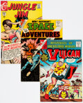 Silver Age (1956-1969):Miscellaneous, Charlton Silver and Bronze Age Group of 19 (Charlton, 1962-70) Condition: Average VF.... (Total: 19 )