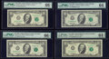 Small Size:Federal Reserve Notes, Fr. 2030-B; G $10 1993 Federal Reserve Notes. PMG Graded Gem Uncirculated 66 EPQ; Choice Uncirculated 64;. Fr. 2031-D $10 ... (Total: 4 notes)