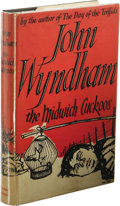 Books:First Editions, John Wyndham: The Midwich Cuckoos. (London: Michael Joseph,1957), first edition, 239 pages, jacket design by Dick Hart,...