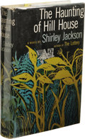 Books:First Editions, Shirley Jackson: The Haunting of Hill House. (New York:Viking, 1959), first edition, 246 pages, jacket design by Paul B...