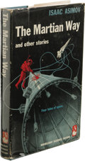 Books:First Editions, Isaac Asimov: The Martian Way and Other Stories. (New York:Doubleday & Company, 1955), first edition, 222 pages, jacket...
