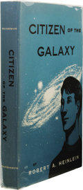 "Books:First Editions, Robert A. Heinlein: Citizen of the Galaxy. (New York:Charles Scribner's Sons, 1957), first edition, with ""A"" and""7.57v..."