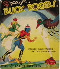"""Books:First Editions, Lt. Dick Calkins and Phil Nowlan: Illustrated Pop-up Edition ofBuck Rogers 25th Century Featuring Buddy and Allura in""""St..."""