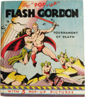 Books:First Editions, Alex Raymond: Illustrated Pop-up Edition of Flash Gordon TheTournament of Death. (Chicago: Pleasure Books, 1935), first...