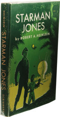 "Books:First Editions, Robert A. Heinlein: Starman Jones. (New York: Scribner'sSons, 1953), first edition, first printing (the letter ""A"" and ..."