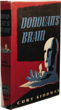 Books:First Editions, Curt Siodmak: Donovan's Brain. (New York: Alfred A. Knopf,1943), first edition, 234 pages, jacket design by D. Deffaa, ...