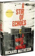 Books:First Editions, Richard Matheson: A Stir of Echoes Review Copy.(Philadelphia and New York: Lippincott, 1958), first edition, 220pa...