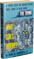 Books:Fiction, John W. Campbell, Jr.: Who Goes There? 1951 Movie Edition.(Chicago: Shasta Publishers, 1951), second edition, 230 p...