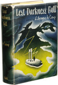 Books:Signed Editions, L. Sprague de Camp: Lest Darkness Fall Signed First Edition.(New York: Henry Holt and Co., 1941), first edition, 37...
