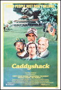 """Movie Posters:Comedy, Caddyshack (Orion, 1980). Fine on Linen. One Sheet (27"""" X 41""""). Comedy.. ..."""