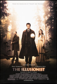"""The Illusionist & Other Lot (Yari Film Group, 2006). Rolled, Very Fine+. One Sheets (2) (27"""" X 39.5"""" &..."""