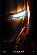 """Movie Posters:Science Fiction, Iron Man (Paramount, 2008). Rolled, Very Fine-. One Sheet (27"""" X 40"""") DS Advance. Science Fiction.. ..."""