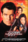"""Movie Posters:James Bond, Tomorrow Never Dies (United Artists, 1997). Rolled, Very Fine. One Sheet (27"""" X 40"""") SS. James Bond.. ..."""