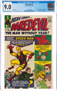 Daredevil #1 (Marvel, 1964) CGC VF/NM 9.0 Off-white to white pages