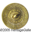 Political:Ferrotypes / Photo Badges (pre-1896), CALEB STRONG BACKNAME BUTTON. Unlisted backname button. 21 mm in...