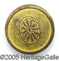 Political:Ferrotypes / Photo Badges (pre-1896), LAFAYETTE BACKNAME BUTTON. 21 mm gilt brass clothing button. Alb...