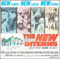 """Movie Posters:Drama, The New Interns & Other Lot (Columbia, 1964). Folded, Fine+. Six Sheets (2) (81"""" X 81"""") Howard Terpning Artwork. Dram..."""