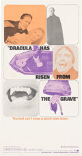 Movie Posters:Horror, Dracula Has Risen from the Grave (Warner Bros., 1969). Fin...