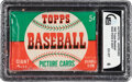 Baseball Cards:Unopened Packs/Display Boxes, 1952 Topps Baseball Five-Cent Unopened Wax Pack GAI EX-MT ...