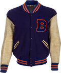 Football Collectibles:Others, 1960-61 Dave Wilcox Boise Junior College Letterman's Jacke...