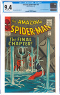 Silver Age (1956-1969):Superhero, The Amazing Spider-Man #33 (Marvel, 1966) CGC NM 9.4 White pages....