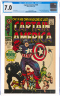 Silver Age (1956-1969):Superhero, Captain America #100 (Marvel, 1968) CGC FN/VF 7.0 Cream to off-white pages....