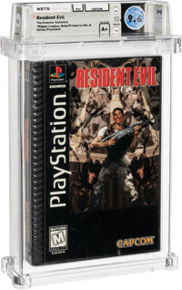 Resident Evil - Wata 9.6 A+ Sealed [Ridged Longbox, First Production] (The Dreamer Collection), PS1 Capcom 1996 USA