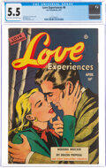 Love Experiences #6 (Ace, 1951) CGC FN- 5.5 Light tan to off-white pages
