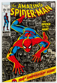 The Amazing Spider-Man #100 Signed by John Romita Sr. (Marvel, 1971) Condition: FN/VF