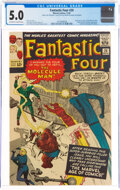 Silver Age (1956-1969):Superhero, Fantastic Four #20 (Marvel, 1963) CGC VG/FN 5.0 Off-white to white pages....