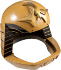 Movie/TV Memorabilia:Costumes, Colonial Warrior Viper Pilot Helmet from Battlestar Galactica from the collection of produce...