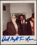 Autographs:Index Cards, Football Legends Single Signed Index Cards, Lot of 26 + 1 photograph....