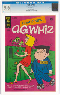O. G. Whiz #1 File Copy (Gold Key, 1971) CGC NM+ 9.6 Off-white pages