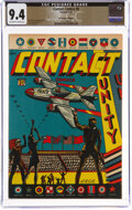 Golden Age (1938-1955):Miscellaneous, Contact Comics #8 The Promise Collection Pedigree (Aviatio...