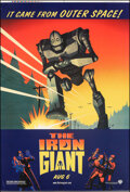 """Movie Posters:Animation, The Iron Giant (Warner Bros., 1999). Rolled, Very Fine-. Printer's Proof Bus Shelter (48"""" X 70"""") Advance. Animation.. ..."""