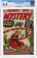 Silver Age (1956-1969):Superhero, Journey Into Mystery #83 (Marvel, 1962) CGC FN+ 6.5 Off-white pages....
