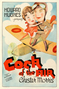 Movie Posters:Comedy, Cock of the Air (United Artists, 1932). Fine/Very Fine on ...