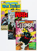 Silver Age (1956-1969):War, DC Silver and Bronze Age War Comics Group of 12 (DC, 1961-70) Condition: Average FN+.... (Total: 12 )