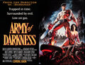 """Movie Posters:Horror, Army of Darkness (Universal, 1992). Rolled, Very Fine. Subway (41"""" X 54"""") SS Advance. Michael Hussar Artwork. Horror.. ..."""