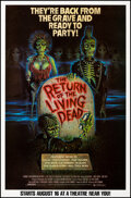 Movie Posters:Horror, The Return of the Living Dead (Orion, 1985). Rolled, Very ...